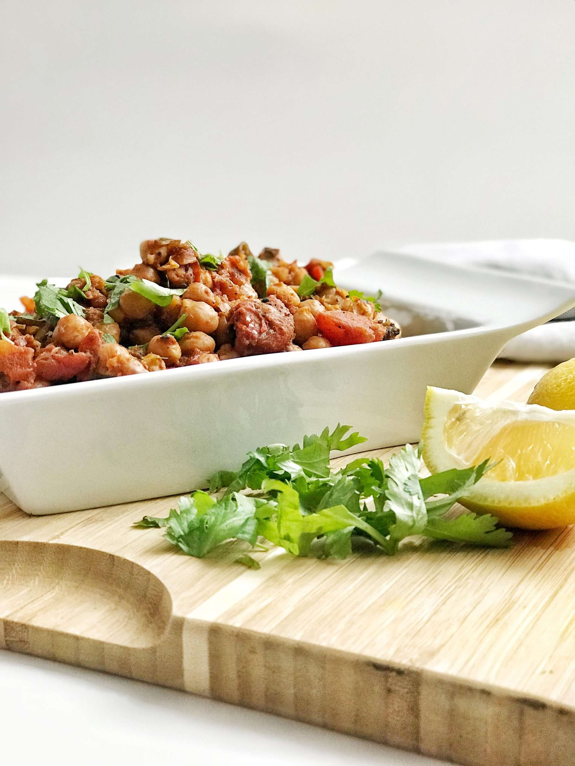 Curried Chickpeas 2