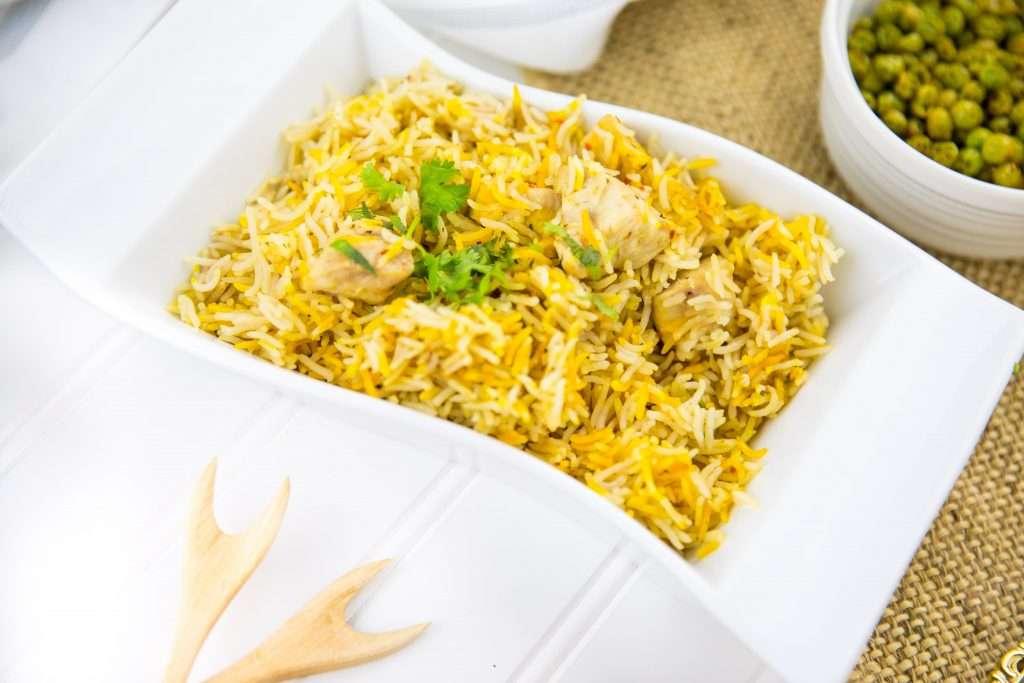 Instant Pot Chicken Pilau Rice