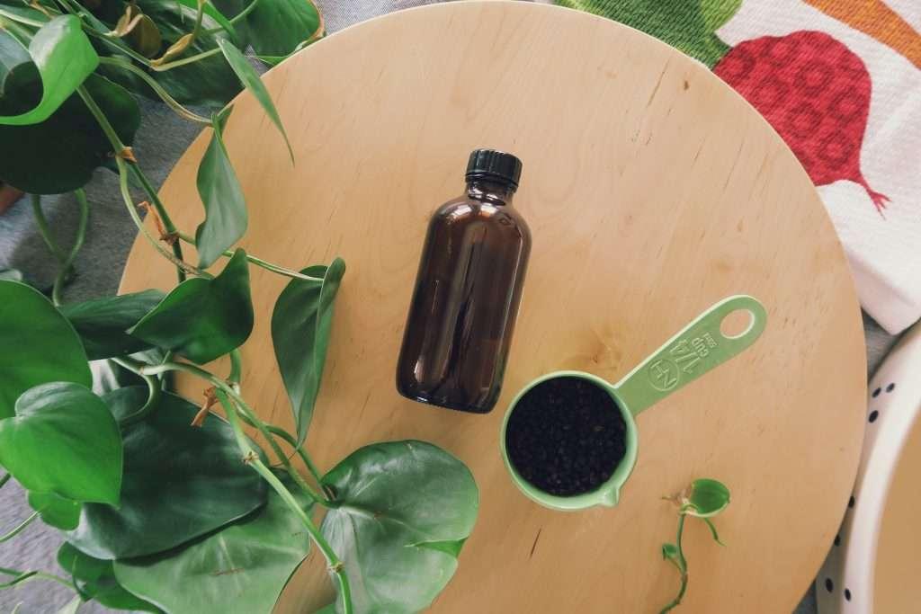 Recipe for elderberry syrup