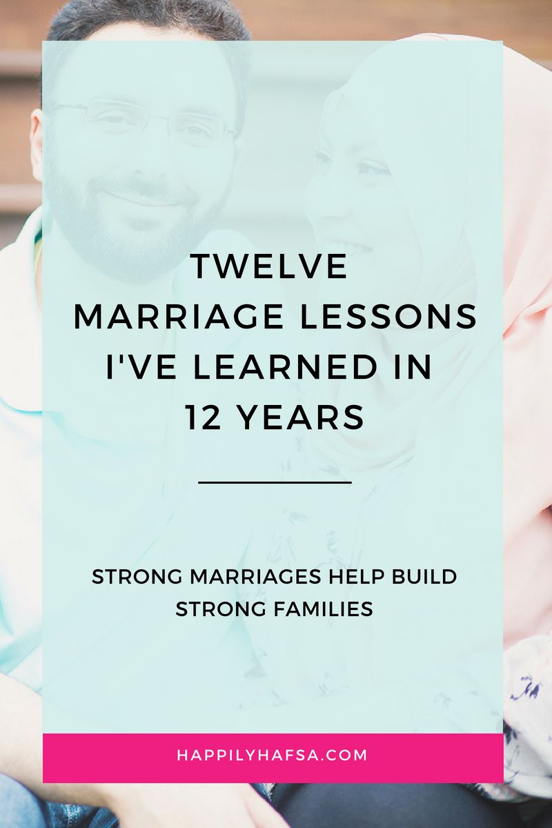 12 Marriage Lessons